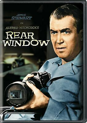 Rear Window DVD James Stewart NEW