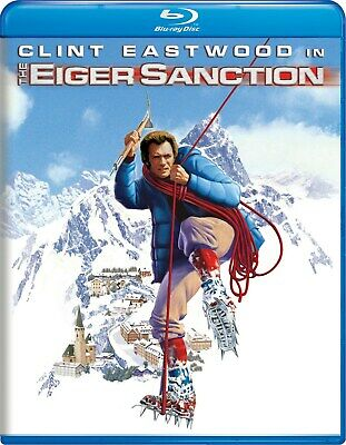 The Eiger Sanction Blu-ray Clint Eastwood NEW