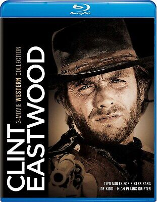 Clint Eastwood 3-movie Western Collection Blu-ray  NEW