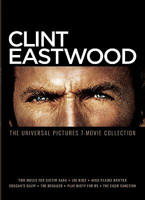 Clint Eastwood The Universal Pictures 7-movie Collection DVD  NEW