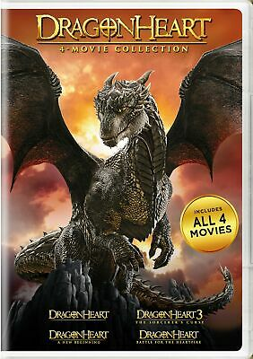 Dragonheart 4-movie Collection DVD Dennis Quaid NEW