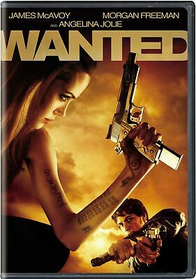 Wanted DVD James McAvoy NEW