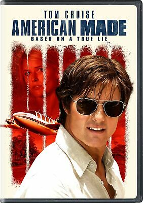 American Made DVD Tom Cruise NEW