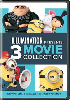 Despicable Me 1-3 DVD Steve Carell NEW