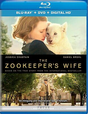 The Zookeeper's Wife (with DVD - Double Play) [Blu-ray]