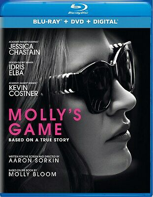 Molly's Game (with DVD - Double Play) [Blu-ray]