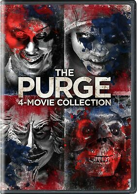The Purge 4-movie Collection DVD Ethan Hawke NEW