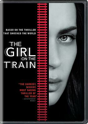 The Girl On the Train DVD Emily Blunt NEW