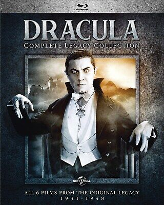 Dracula Complete Legacy Collection Blu-ray Bela Lugosi NEW