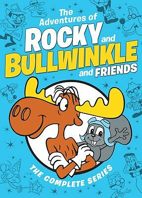 The Adventures of Rocky and Bullwinkle and Friends DVD  NEW