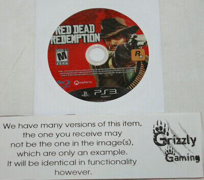 USED Red Dead Redemption Sony PS3 (NTSC) (Disc Only)