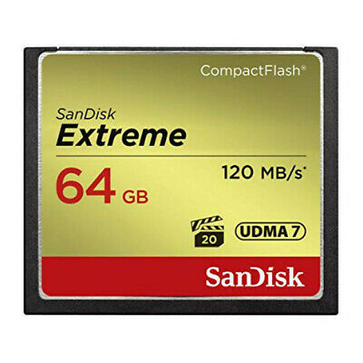 New SanDisk Extreme 64GB CF Card