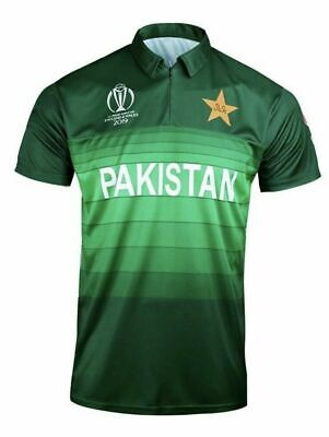 Icc Official Pakistan Cricket World Cup 2019 Shirt Jersey Official Licensed Aj