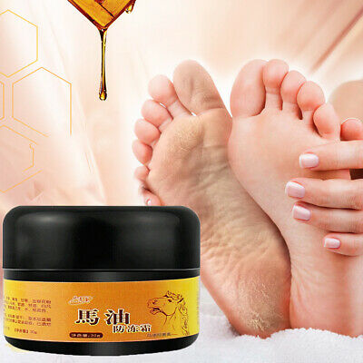 1x 30g Horse Oil Anti Dry Crack Hands Feet Cream Easy Smooth Repair Heel Chapped