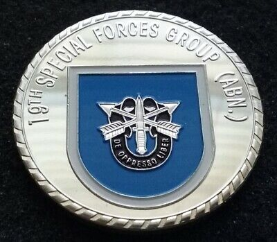SFG 1st Special Forces Group Army Operations SOCOM USASOC Airborn Challenge Coin