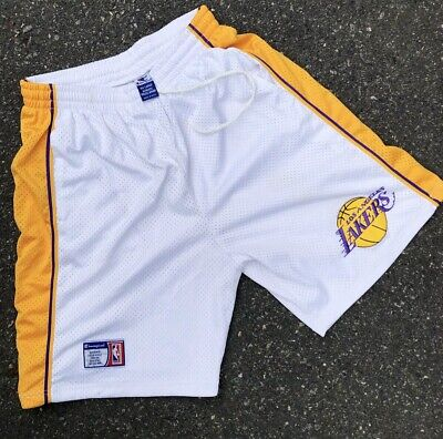 5e06aa6a7d1 Vintage Los Angeles Lakers Authentic Champion Basketball NBA Shorts Size  XXL 90s