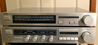 Vintage Yamaha A-07 Amplifier and T-07 Receiver
