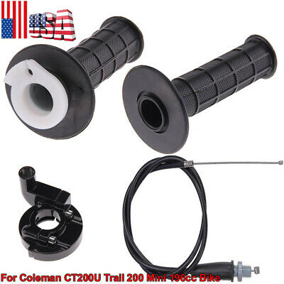 """48/"""" Long Throttle Hand Grips Cable For Coleman CT200U Trail 200 Mini 196cc Bike"""