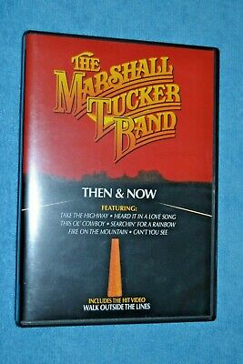 The Marshall Tucker Band - Then and Now (DVD, 2000) with Insert OOP