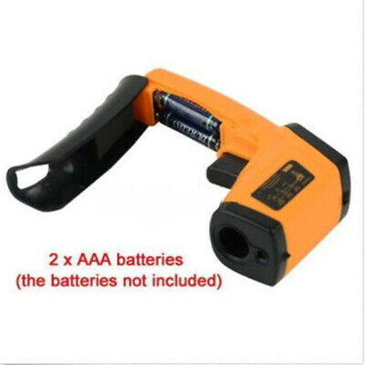 Infrared thermometer IR Laser Handheld Hot water pipes Hot engine parts Useful