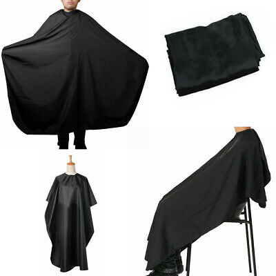 New Stock Black Hair Cutting Cape Pro Salon Barber Hairdressing Gown