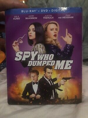 The Spy Who Dumped Me (Blu-Ray + DVD + Digital) 2018 Brand NEW Sealed