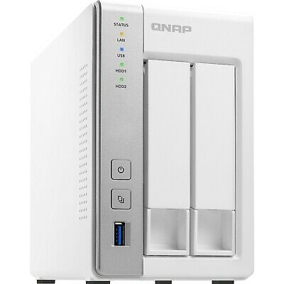 QNAP TS-231P 2 Bay NAS Dual Core 1.7GHz 0TB 1GB Network Storage