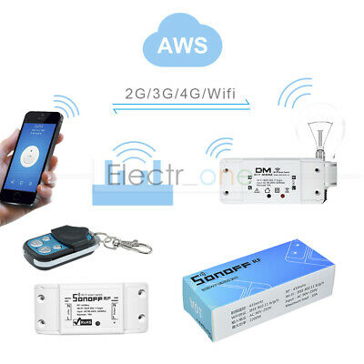 Sonoff Wireless WiFi Switch Module For 433MHz Apple Android/IOS DIY Smart Home