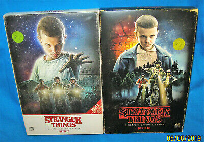 Stranger Things Season 1 & 2 Collector's Ed. Blu-ray & DVD Target Exclusive VHS