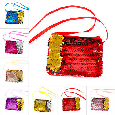 Shoulder Wallet Coin bag Kids Girls Ladies Purse Bag Handbag Small Shiny Stylish