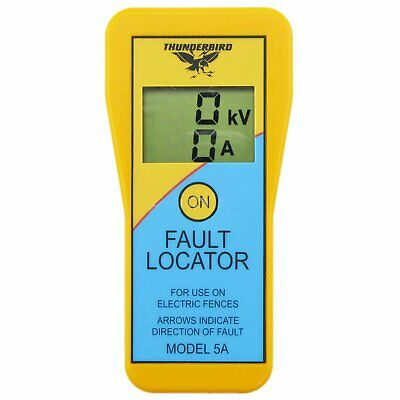 Thunderbird electric fence fault locator