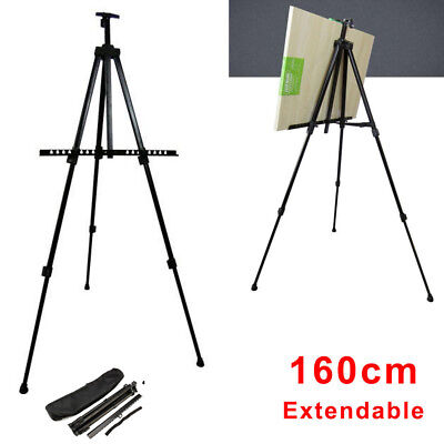Easel Artist Field Studio Painting Tripod Display Telescopic White Board Stand