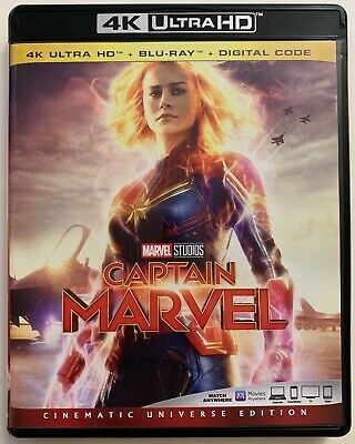 Captain Marvel 4K Ultra Hd 1 Disc Only Free World Wide Shipping Buy It Now Brie