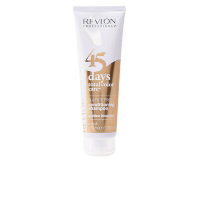 Revlon 45 Days Conditioning Shampoo For Golden Blondes 275 Ml Neu Ovp