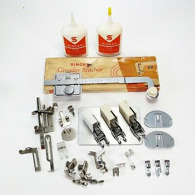 Lot of Singer Parts and Accessories for Singer Sewing Machines