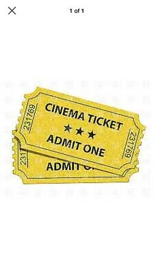 5x cinema tickets to a 2D film at Cineworld, Showcase, and more On a SUNDAY ONLY
