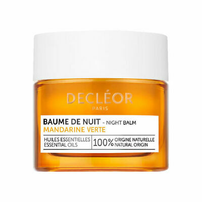 DECLEOR Green Mandarin Night Balm 15ml -BRAND NEW IN BOX -Baume De Nuit RRP £50