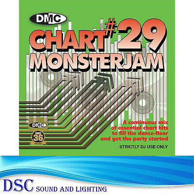 Dmc Chart Monsterjam 29 A Continuous Mix Of Chart Hits To Get The Party Started