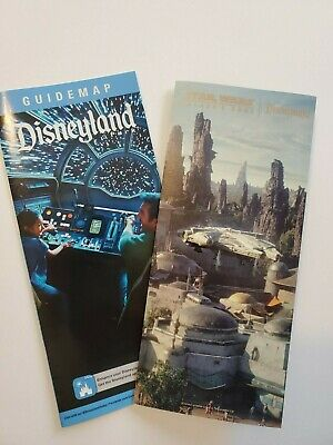 Disneyland Star Wars Galaxy's Edge OPENING DAY park map SOLD OUT - Plus FREE Map