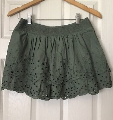 1127b2f8d American Eagle Outfitters Low Waisted Tiered Mini Skirt 100% Cotton size XS