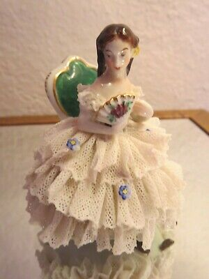 Antique German Porcelain Dresden Ballerina