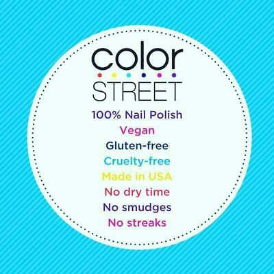 Color Street RETIRED and DISCONTINUED Nail Strips - FREE SHIPPING