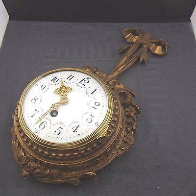 Old Wall Clock Wohl Sweden Wedding Clock Cartel Clock