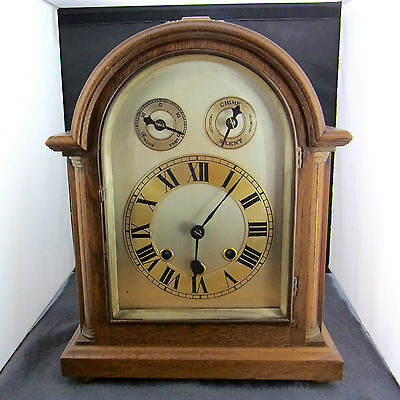 Table Clock Approx. um 1900 Wohl England