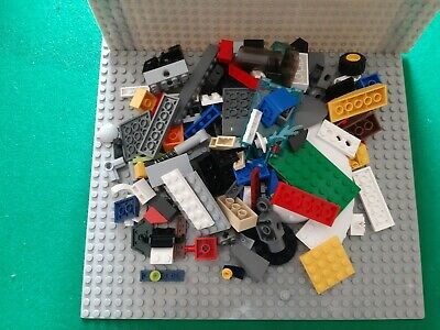 Genuine Lego 600g of mixed parts & pieces. Cleaned & Sanitised. New & Used.