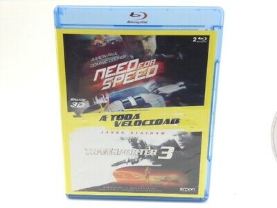 Pelicula Bluray Need For Speed-Transporter 3 4773519