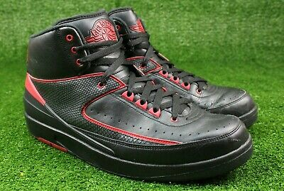 cc764b6e348 Nike Air Jordan 2 II Alternate 87 Retro Black Varsity Red Size 13 OG 834274  001