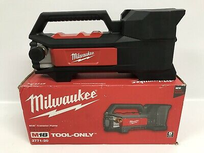 Milwaukee 2771-20 M18 Lithium-Ion Cordless Transfer Pump (Tool Only) H302748200