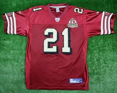 MEN'S FRANK GORE Burgundy STITCHED San Francisco 49ers Jersey Reebok  for cheap