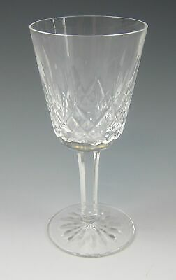 Waterford Crystal LISMORE White Wine Glass EXCELLENT